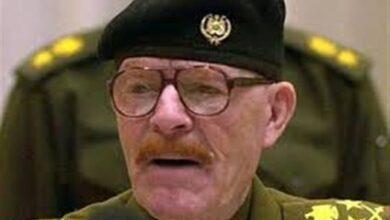 صورة رفيق صدام حسين يرحل .. وفاة عزت الدوري
