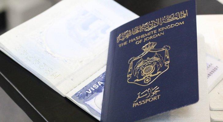 صورة جواز السفر الأردني في المرتبة 58 عالميا و9 عربيا