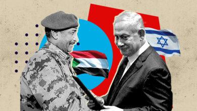 صورة ترامب يعلن عن اتفاق السودان وإسرائيل على تطبيع العلاقات