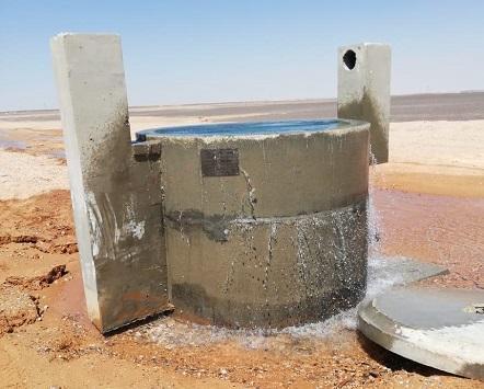 صورة 50 اعتداء على خطوط المياه بالبادية الشمالية منذ بداية العام