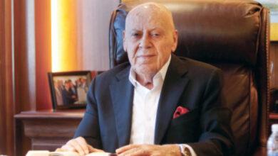 صورة وفاة رجل الأعمال الأردني توفيق فاخوري