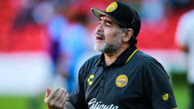 صورة وفاة اسطورة كرة القدم الارجنتيني دييغو مارادونا