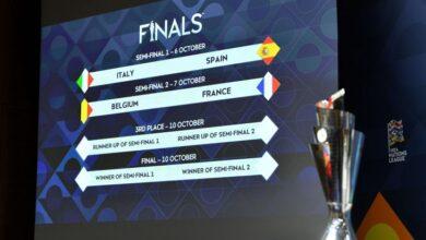 صورة اليويفا: إيطاليا تستضيف المراحل النهائية لدوري الأمم العام المقبل