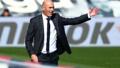 صورة زيدان: أحظى بدعم ريال مدريد.. وهكذا سنتجاوز المحنة