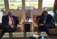 صورة الصفدي و مبعوث أميركي  يبحثان الجهود المستهدفة لإيجاد حل سياسي للأزمة السورية