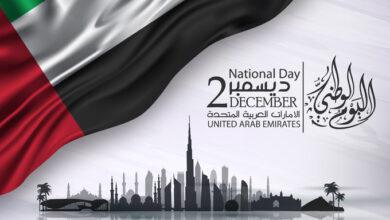صورة الإمارات .. عندما يحتفل الكبار بحب الوطن