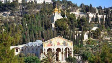 صورة الأردن يدين محاولة حرق كنيسة الجثمانية بالقدس