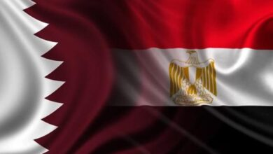 صورة استئناف العلاقات الدبلوماسية المصرية القطرية