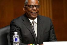 صورة مجلس الشيوخ يصادق على تعيين لويد أوستن أول وزير للدفاع من أصل إفريقي