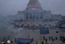 صورة تحذير من خطط لتفجير مبنى الكونغرس خلال خطاب لبايدن