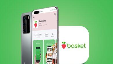 """صورة تسوّقٌ دون عناء مع تطبيق """"Basket.app"""" المتوفر على منصة HUAWEI AppGallery"""