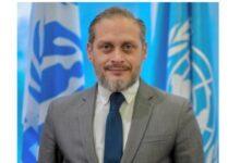 صورة علي بيبي مديرا لمكتب مفوضية الأمم المتحدة لشؤون اللاجئين في بنغازي