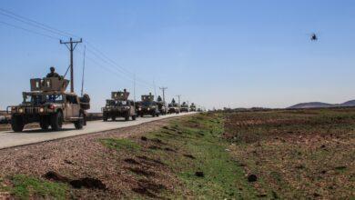 صورة نشر قوات نوعية  مسندة بسلاح الجو على الواجهتين الشمالية والشرقية