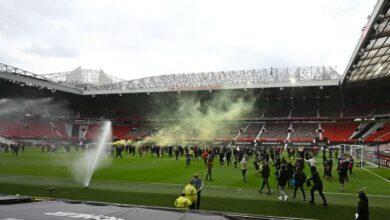 صورة إقامة مباراة مانشستر يونايتد وليفربول في 13 مايو الحالي