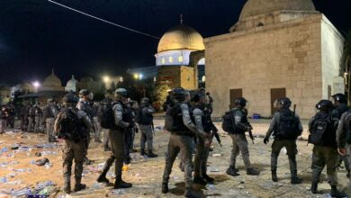 صورة الأردن وفلسطين يحملان الاحتلال مسؤولية التصعيد
