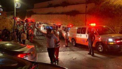 صورة الاحتلال يمنع إسعاف المصابين بالقدس