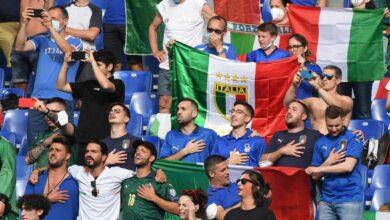 صورة إيطاليا بالعلامة الكاملة تتصدر المجموعة وويلز ثانيا وخلفها سويسرا