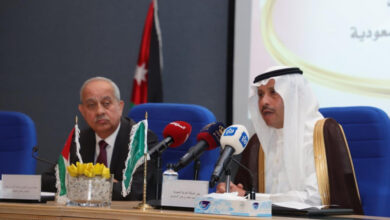 صورة السفير السعودي يدعو إلى إطلاق مؤتمر استثماري مشترك في الأردن