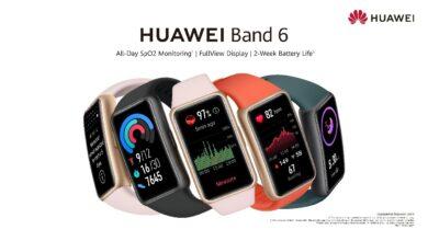 صورة حقّق أهداف لياقتك البدنية وحفاظ على صحتك مع HUAWEI Band 6… أحدث سوار ذكي من هواوي