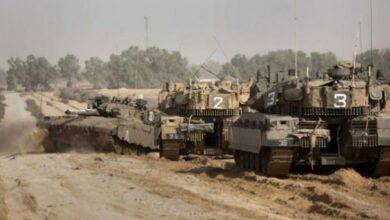 صورة قوات الاحتلال تتوغل شرق خانيونس
