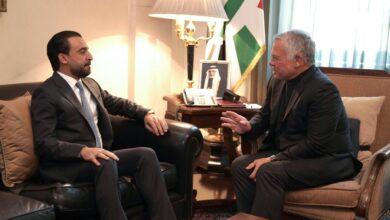 صورة الملك يؤكد وقوف الأردن التام لجانب العراق