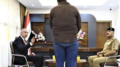 صورة عراقي أجبر على الاعتراف  بقتل زوجته يخرج من سجنه وصمته بعد ظهورها حية…صور وفيديو