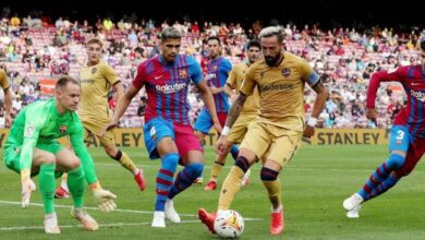 صورة برشلونة يعود لدرب الانتصارات بثلاثية ضد ليفانتي