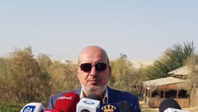 صورة أمين زيادات رئيسا لنادي الفحيص الارثوذكسي