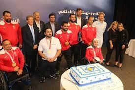 صورة البنك الأردني الكويتي يكرم أبطال بارالمبيك طوكيو – صور